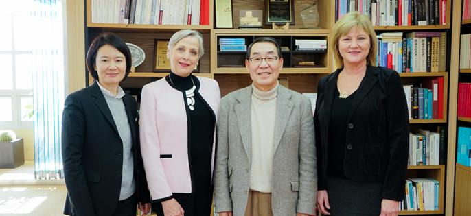 BIB 과목개발을 위해 방문한 미국 RCI 연구소의 관계자분들