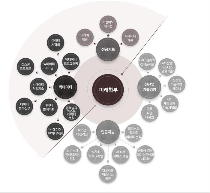 빅데이터 전공 로드맵 : 하단 설명 참고