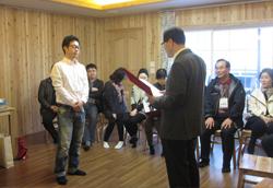 2014년 멘토-멘티 임명장수여식1