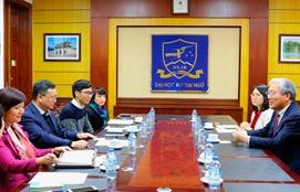베트남 하노이국립대 외국어대학과한국어 교육 강화를 위한 상호협력